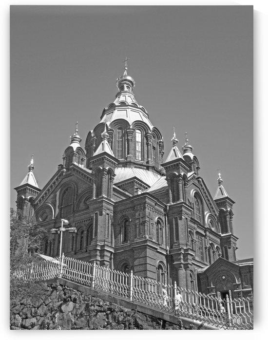 Cathedral of Helsinki B&W by Gods Eye Candy