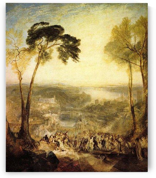 The baths, Venus and Demosthenes by Joseph Mallord Turner by Joseph Mallord Turner