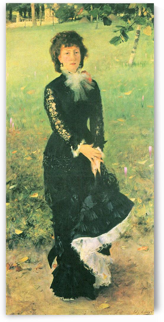 Madame Edouard Pailleron by John Singer Sargent by John Singer Sargent