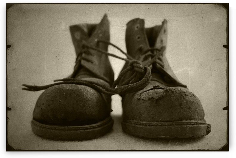 OLD BOOTS by ANDREW LEVER GALLERY