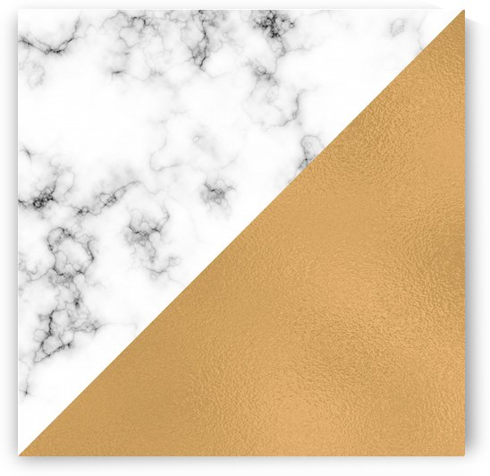 ABSTRACT MODERN GOLD GLASS MARBLE by rizu_designs