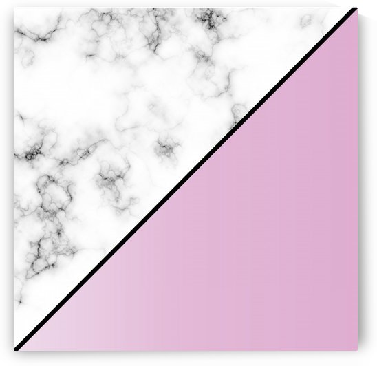 ABSTRACT MODERN PINKY MARBLE by rizu_designs