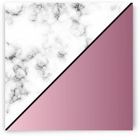ABSTRACT MODERN PINK MARBLE by rizu_designs