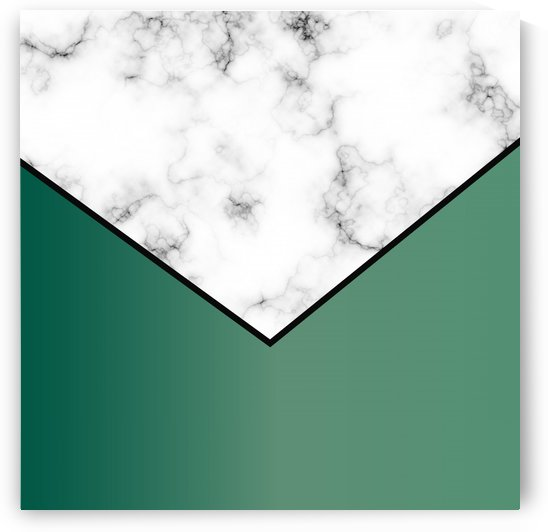 ABSTRACT GREEN MODERN MARBLE by rizu_designs