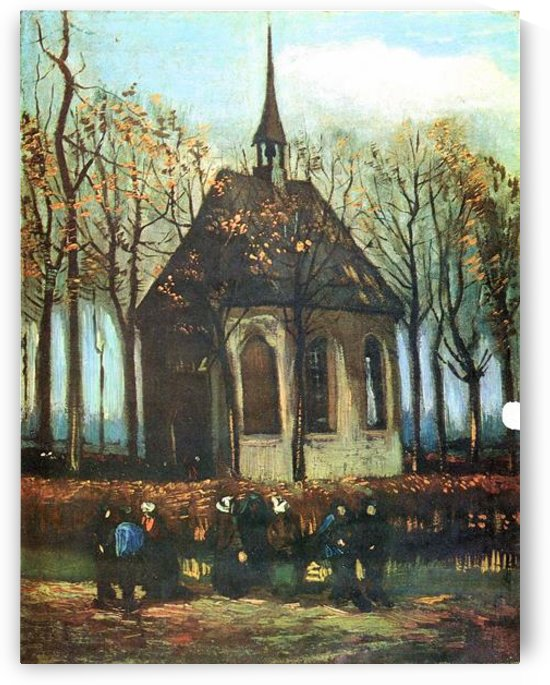 The Church of Nuenen by Van Gogh by Van Gogh