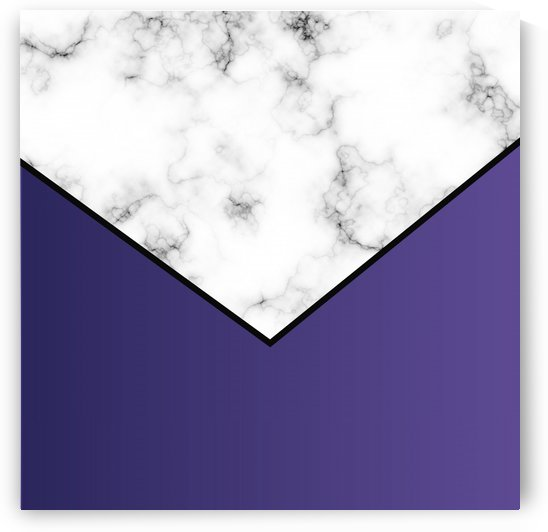 ABSTRACT VIOLET MODERN MARBLE by rizu_designs