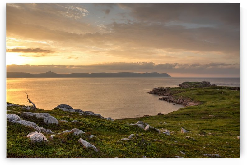 White Point Sunset by Roman Buchhofer