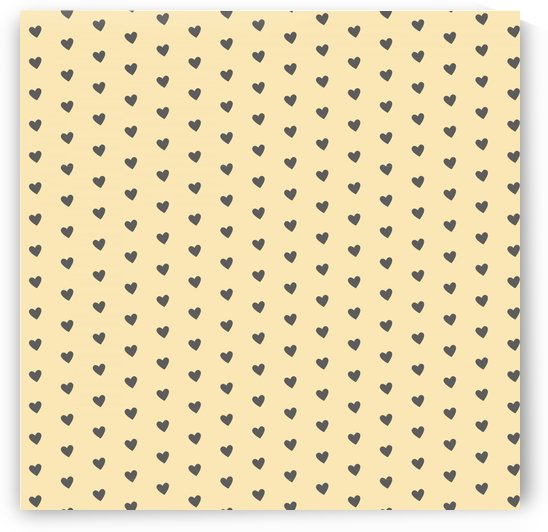 Banana Mania Heart Shape Pattern by rizu_designs
