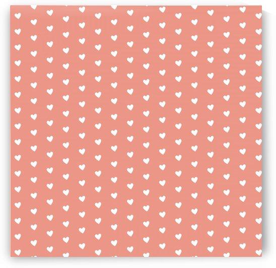 Blooming Dahila Heart Shape Pattern by rizu_designs