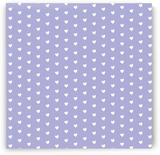 Blue Bell  Heart Shape Pattern by rizu_designs