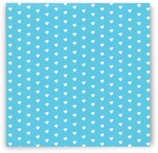 AQUA Heart Shape Pattern by rizu_designs