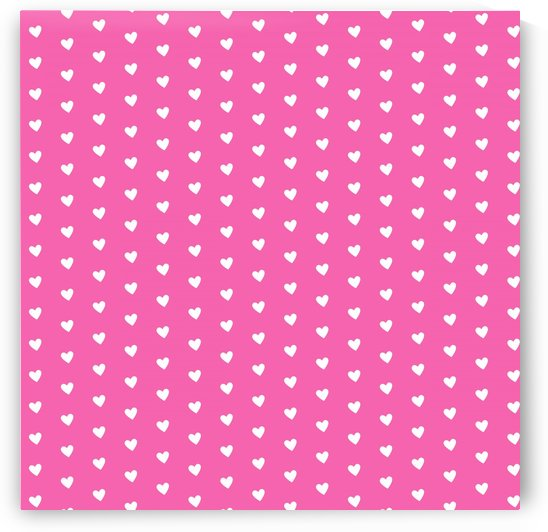 Magenta Heart Shape Pattern by rizu_designs