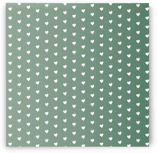 Foliage Heart Shape Pattern by rizu_designs