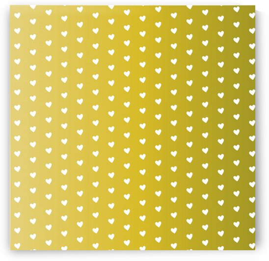 Green Land Heart Shape Pattern by rizu_designs