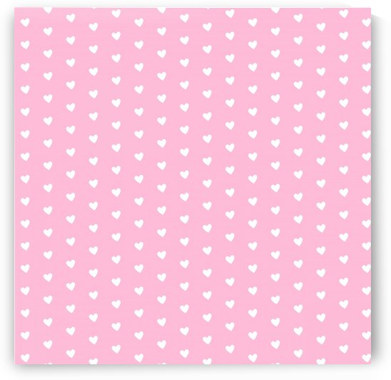 Cotton Candy Heart Shape Pattern by rizu_designs