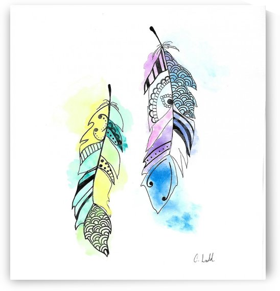 Feathers by Corinne Ladd
