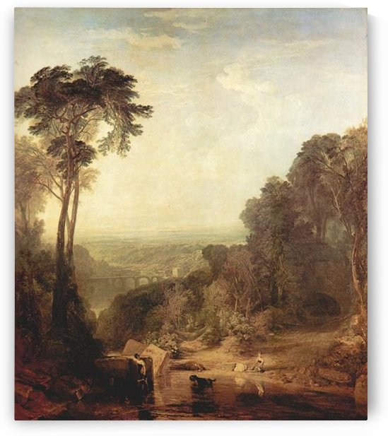 The crossing of the stream by Joseph Mallord Turner by Joseph Mallord Turner