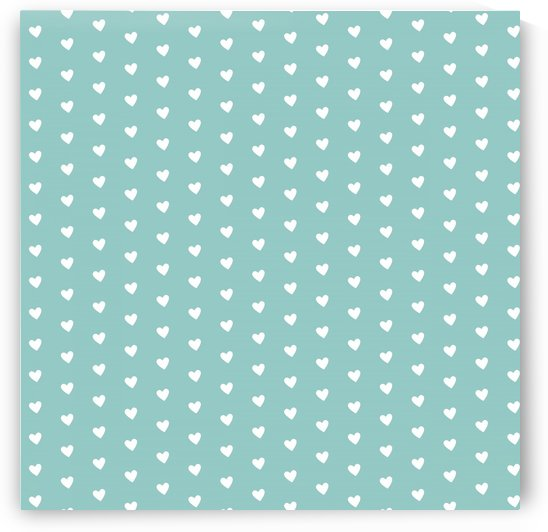 Play Green Heart Shape Pattern by rizu_designs