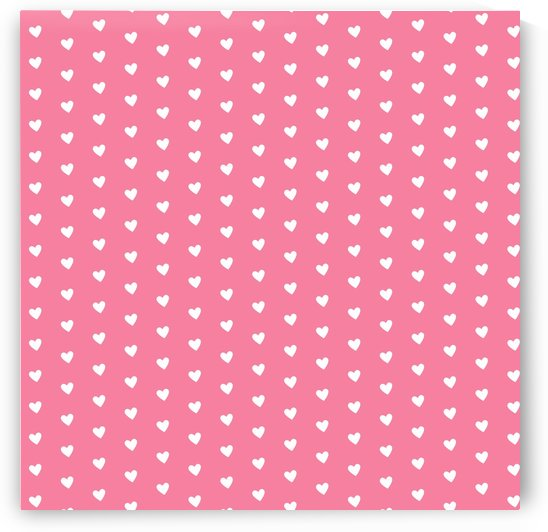 Pink Sherbet Heart Shape Pattern by rizu_designs