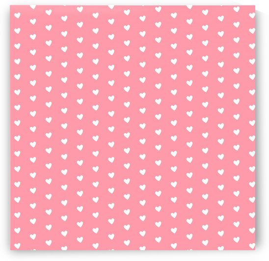 Salmon Heart Shape Pattern by rizu_designs