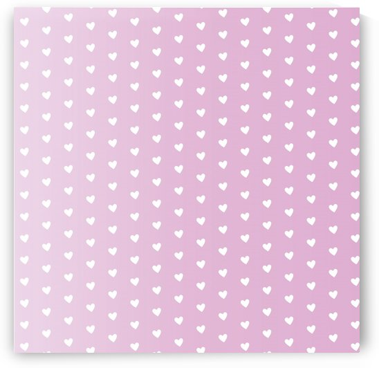 Spring Pink Heart Shape Pattern by rizu_designs