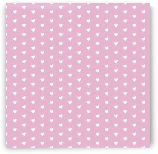 Sweet Lilac Heart Shape Pattern by rizu_designs