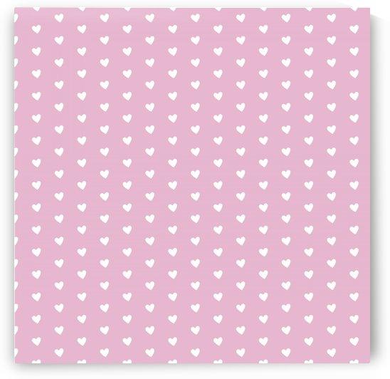Sweet Lilac Heart Shape Pattern by rizu_designs