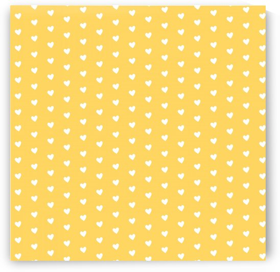 Yellow Heart Shape Pattern by rizu_designs