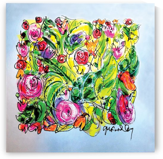 Floral Color Expression by Gerri Findley