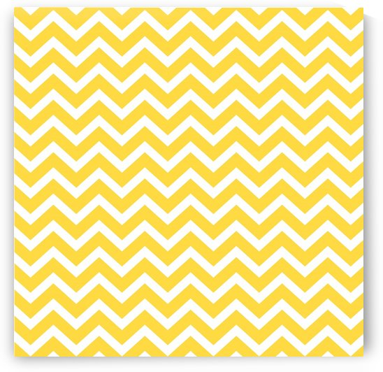 EGG YELLOW CHEVRON by rizu_designs