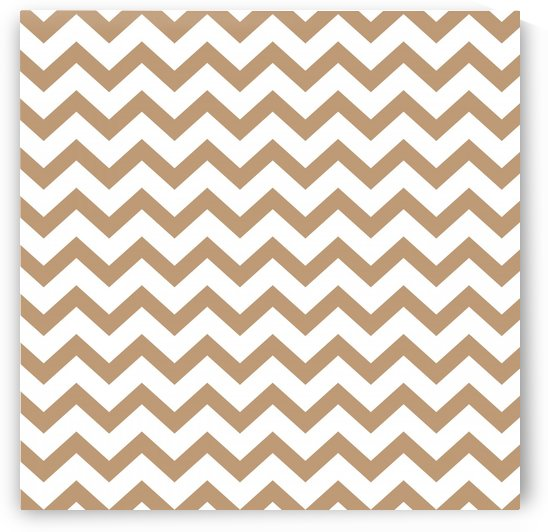 HAZELNUT CHEVRON by rizu_designs