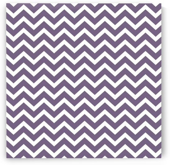 DARK SLATE GREY CHEVRON by rizu_designs