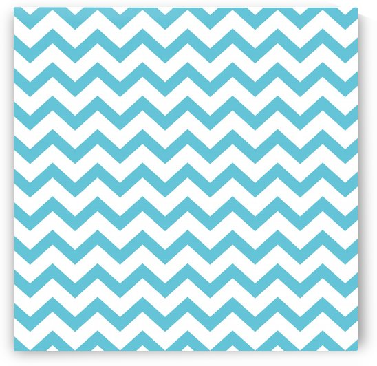 CORNFLOWER CHEVRON by rizu_designs