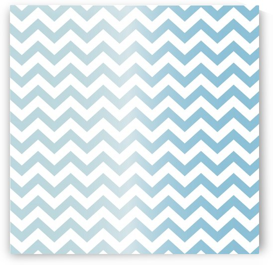 AQUAMARINE CHEVRON by rizu_designs