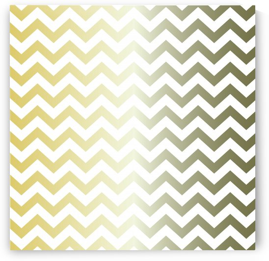 GOLDEN BERYL CHEVRON by rizu_designs