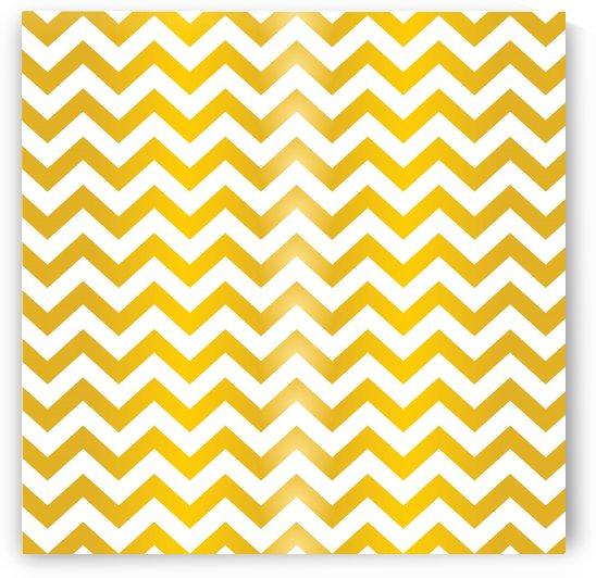 AUTUMN YELLOW CHEVRON by rizu_designs