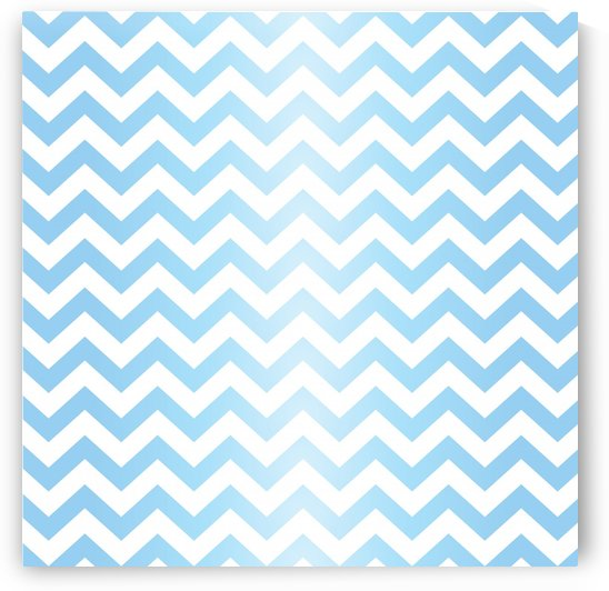 BLUE  PASTEL CHEVRON by rizu_designs