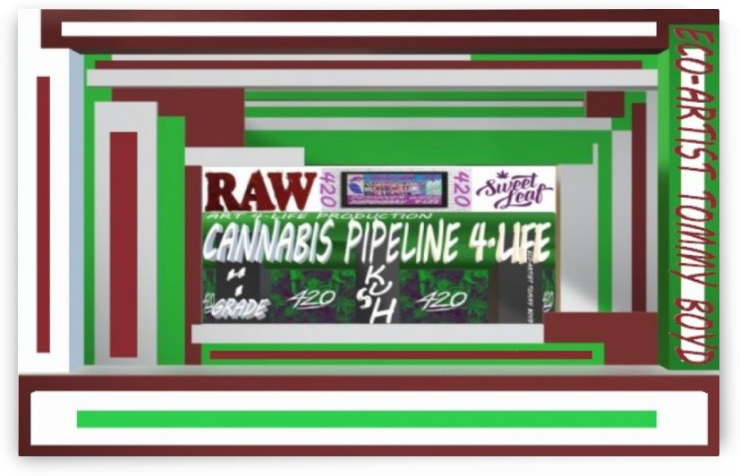 ECO ARTIST TOMMY BOYD CANNABIS PIPELINE4.LIFE WEBSITE MAIN 01 LG by KING THOMAS MIGUEL BOYD