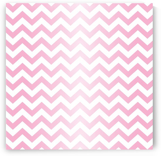 RED RADIAL PASTEL CHEVRON by rizu_designs