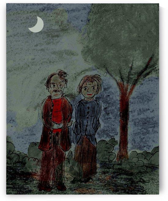Night Stroll by djjf