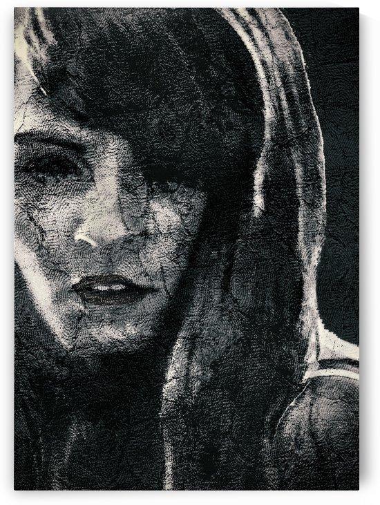 Creepy Artistic Woman Portrait by Daniel Ferreia Leites Ciccarino