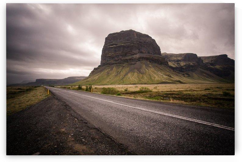Lone road by Roman Buchhofer