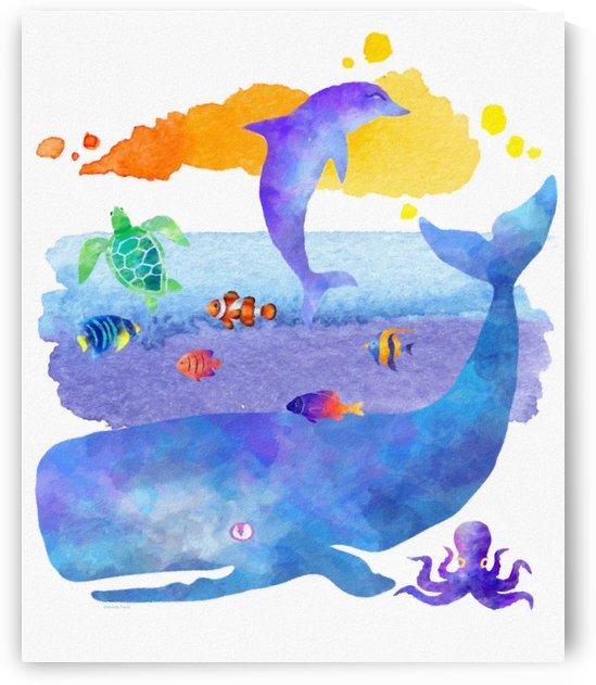 Ocean Life  by Gabriella David