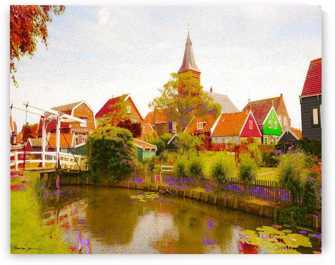 Marken Pays-Bas by Jean-Louis Desrosiers