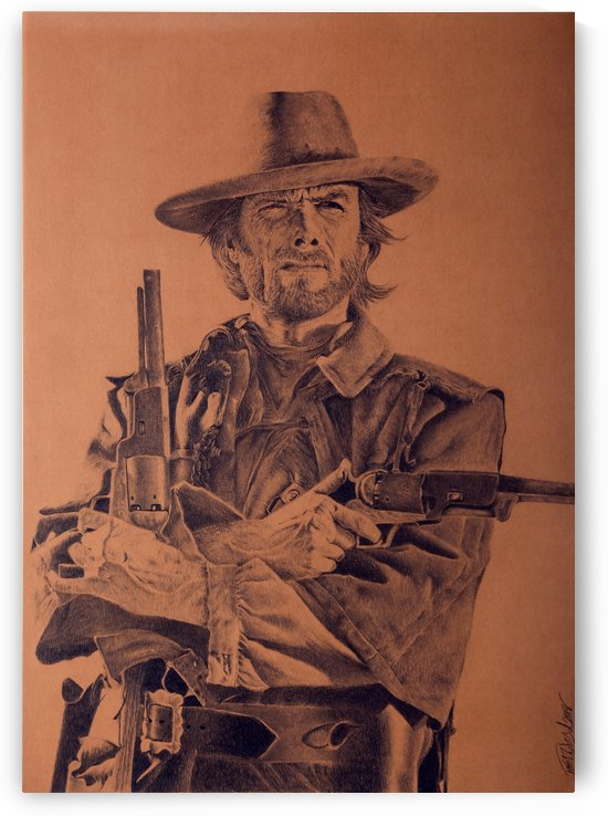 Clint Eastwood by Tpencilgallery