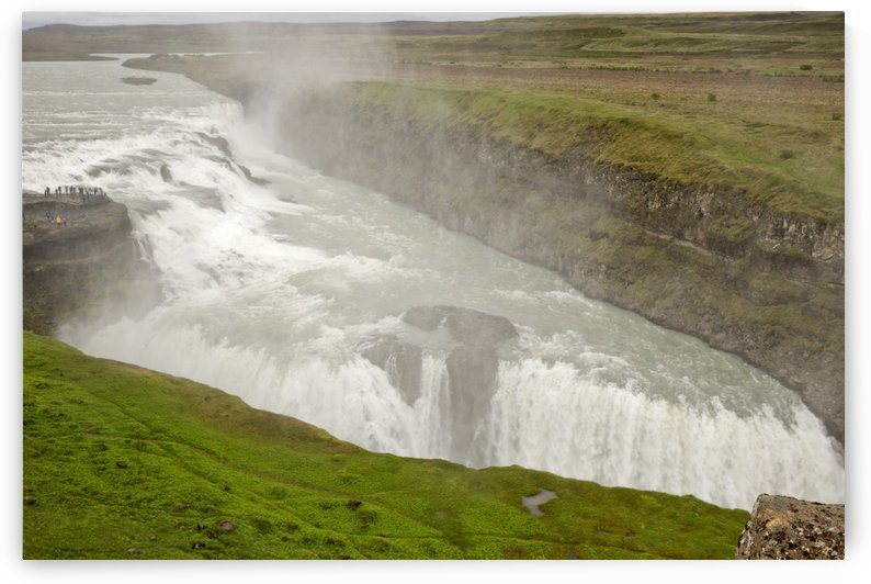 Disappearing Gullfoss by Lindsey McCarty