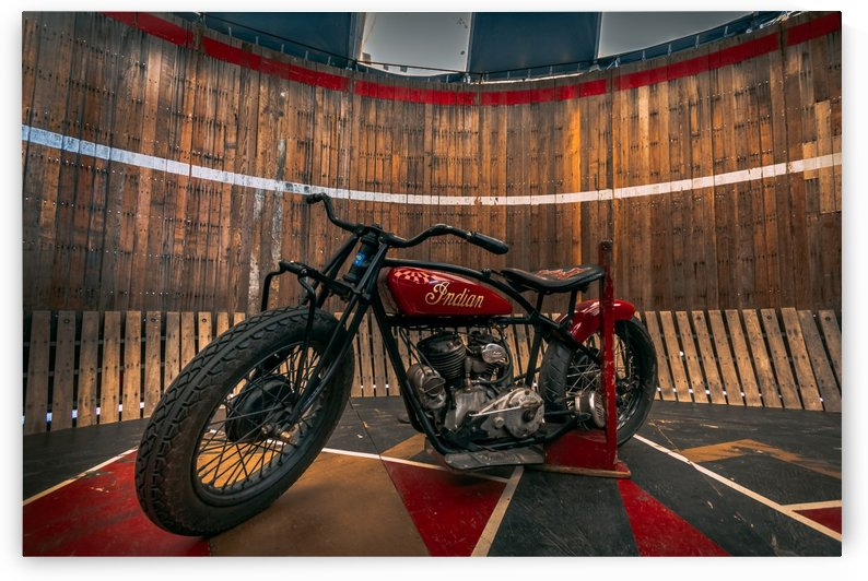 1927_Indian_Scout_Motorcycle by  Shawn Connors Designs