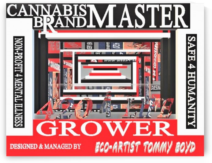 ECO ARTIST TOMMY BOYDMARIJUANA MASTER GROWER 2 by KING THOMAS MIGUEL BOYD