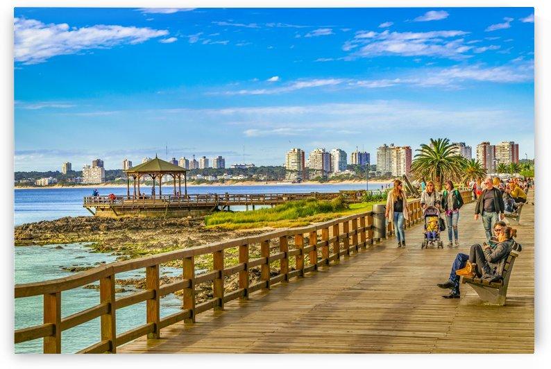 Punta del Este Boardwalk, Uruguay by Daniel Ferreia Leites Ciccarino