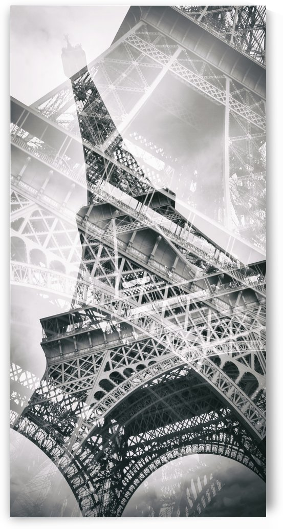 Eiffel Tower Double Exposure | Panorama by Melanie Viola